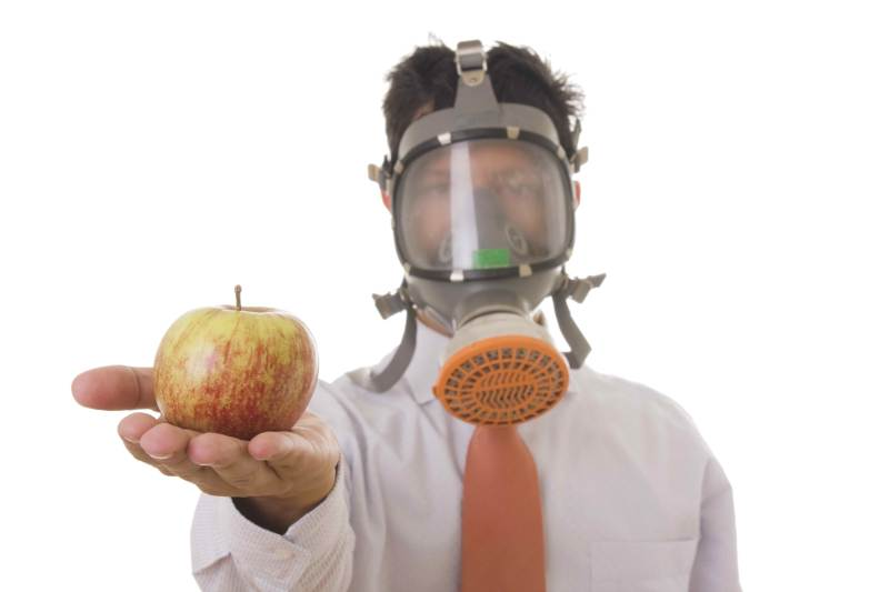 Apple Mask dreamstime_7008761
